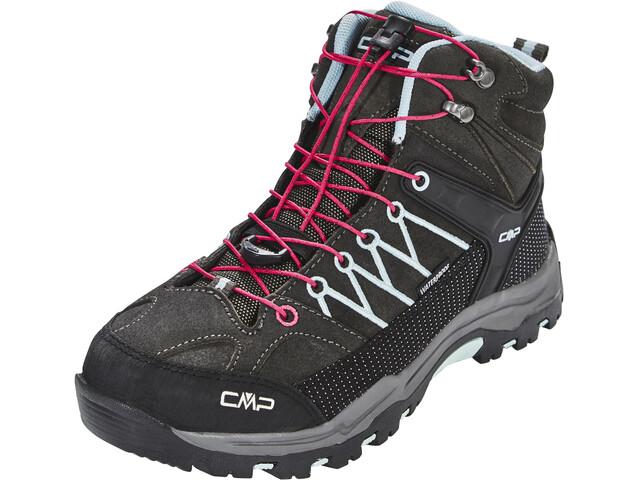 CMP Campagnolo Junior Rigel Mid WP Trekking Shoes Arabica-Sky Light